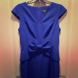 💥Like & I'll Discount!! Tahari Blue Dress